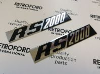Ford Escort MK1 New badge foils.